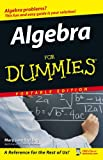 Algebra For Dummies, Portable Edition [Paperback] by Sterling, Mary Jane