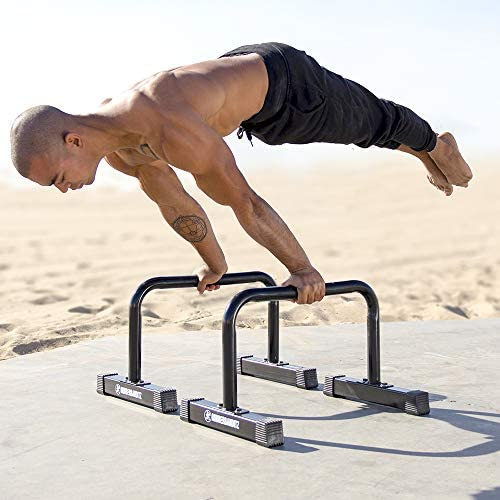 Rubberbanditz Parallettes Parallete Gymnastics Bodyweight