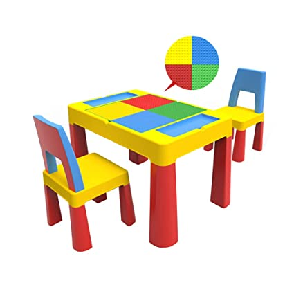 Pleasant Amazon Com Childrens Table And Chair Set 1 8 Years Old Download Free Architecture Designs Terchretrmadebymaigaardcom