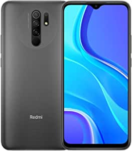 Xiaomi Redmi 9 (64GB, 4GB) 6.53″, 5020 mAh Battery, Dual SIM GSM Unlocked Global 4G LTE (T-Mobile, AT&T, Metro, Straight Talk) International Model (Carbon Grey)