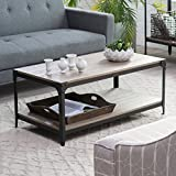 Cheap Belham Living Trenton Coffee Table – Driftwood