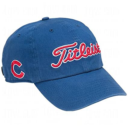 78b5e0053b3 Image Unavailable. Image not available for. Color  Chicago Cubs Titleist Hat