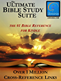 Ultimate Bible Study Suite; KJV Bible (Red Letter), Hebrew/Greek Dictionaries and Concordance, Easton's & Smith's Bible Dictionaries, Nave's Topical Guide, (1 Million Links)
