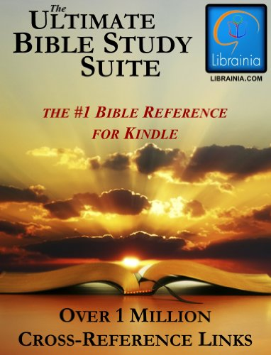 Ultimate Bible Study Suite; KJV Bible (Red Letter), Hebrew/Greek Dictionaries and Concordance, Easton's & Smith's Bible Dictionaries, Nave's Topical Guide, (1 Million Links) (Suite Complete Package)