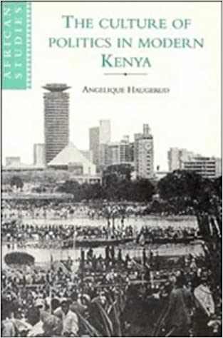 Book Culture of Politics in Modern Kenya (African Studies)