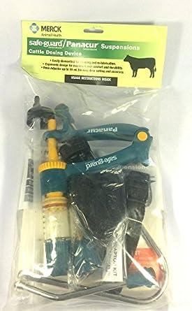 Amazon.com: Merck safe-guard Panacur ganadero dispositivo de ...