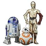 Kotobukiya Star Wars Episode 7 The Force Awakens C-3PO & R2-D2 with BB-8 ArtFX+ Statue