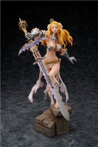 Kinu Nishimura Figure - Code of Princess : Warrior Princess Solange 1/7 Scale PVC Figure >> Empty Web Shop Limited (Charactor Designed by Nishimura Kinu) by Empty
