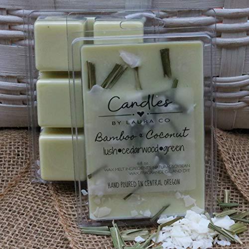 Bamboo Coconut 6 oz Soy Wax ()