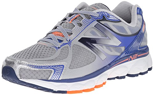 Price comparison product image New Balance Men's M1080BY5 Neutral Running Shoe,  Silver / Blue,  8.5 D US
