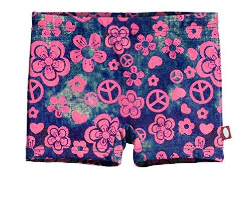 City Threads Girls' Swimming Suit Bottom Boy Short, Woodstock, - Girls Big Size Shorts 12