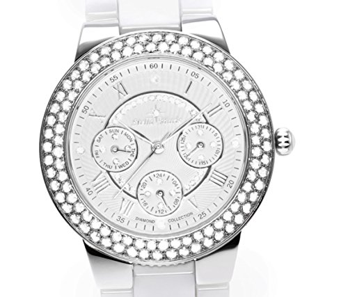stella maris damen armbanduhr analog quarz premium keramik diamanten stm15s2 uhren. Black Bedroom Furniture Sets. Home Design Ideas