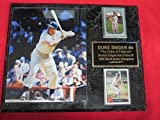 Duke Snider Brooklyn Dodgers 2 Card Collector Plaque #2 w/8x10 Color Photo