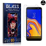 Galaxy J4 Plus 2018 Screen Protector Tempered Glass, Bear Village® Scratch Resistant HD Screen Protector Film for Samsung Galaxy J4 Plus 2018-1 PACK