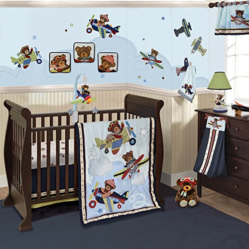 Lambs & Ivy Baby Aviator Bedding Set by Lambs & Ivy