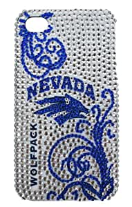 NCAA Nevada Wolf Pack BLINGZ Cover for iPhone 4