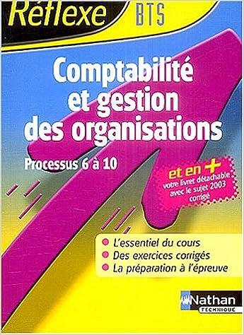 Electronics e books téléchargement gratuit Comptabilité et gestion des organisations : BTS CGO (processus 6 à 10) ePub