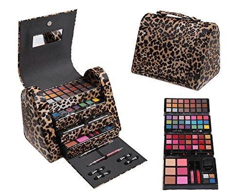 CAMEO Cosmetics 86pc Premium Make Up Set with Reusable Br...