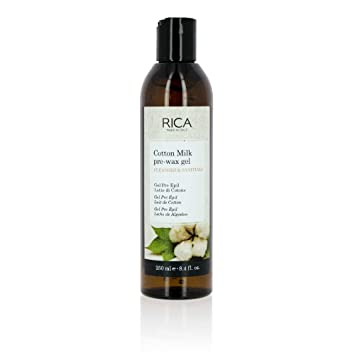 Amazon.com : RICA Pre-Wax Gel with Cotton Milk - Made in Italy - 8.4 FL OZ : Hair Removal Wax : Beauty