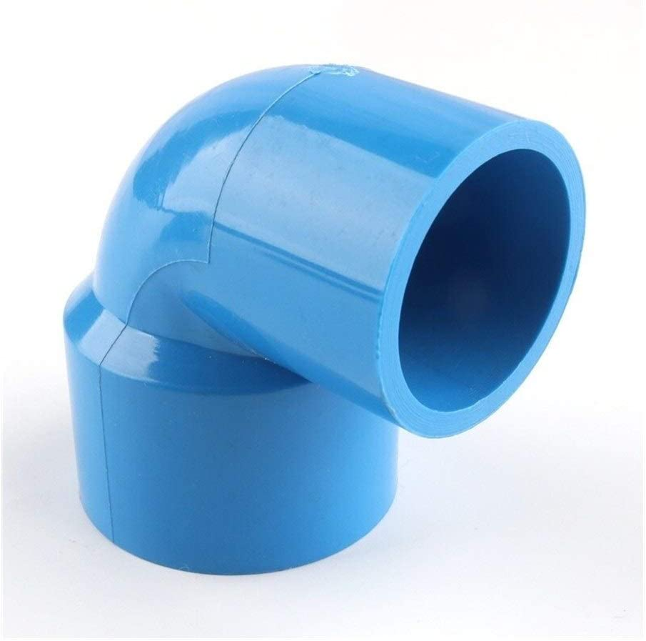 1pc 40 50mm To 20 40mm PVC Reducing Elbow Joints Aquarium Fish Tank Fitting Agricultural Irrigation Garden Water Pipe Connectors Color : 40 20mm, Diameter : Blue