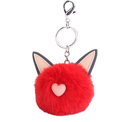 Amazon.com   Plush cat ear keychain 7979ab90d