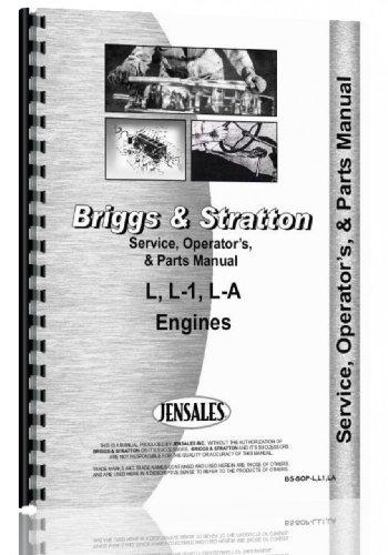 - Briggs And Stratton Engine Service Manual (L | L1 LA Engine)