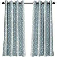 MYSKY HOME Grommet Thermal Insulated Blackout Curtains...