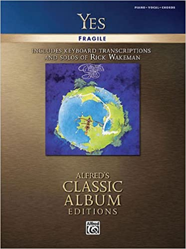 Yes Fragile Includes Keyboardtranscript And Solos Of Rick Wakeman