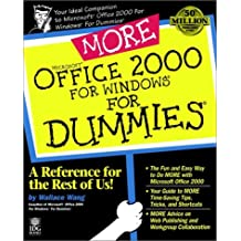 More Microsoft Office 2000 for Windows For Dummies