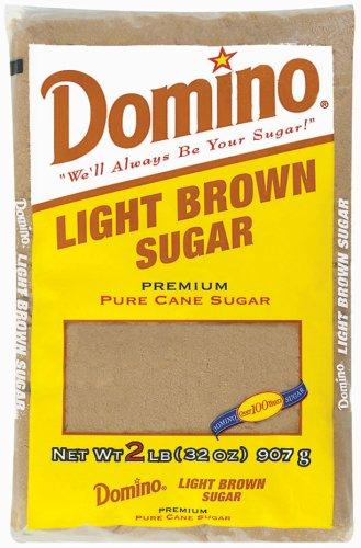 Light Brown Baking Sugar - 2 LB Bag (32 oz)