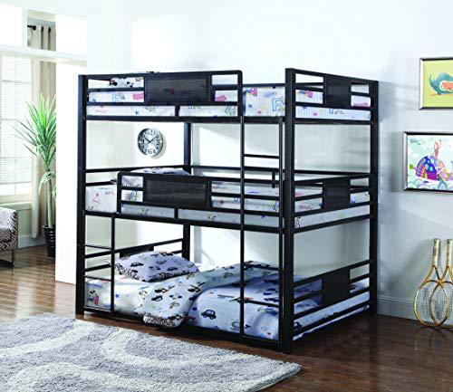 Coaster Home Furnishings 460394F Bunk Bed Black