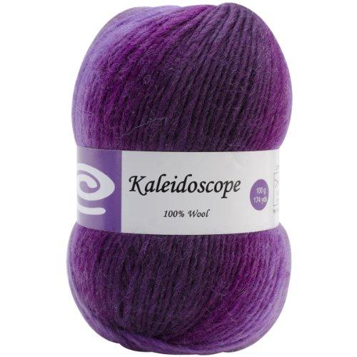 ELEGANT YARNS 147.39 Kaleidoscope Yarn-Purple Iris