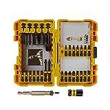 DEWALT DWA2FTS30IRC Flex Torq Impact Ready Screwdriving Bit Set, 30-Piece, Magnetic Screw Lock Holder