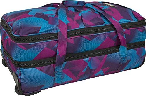 Reisetasche Jumbo Big-Travel mit Rollen riesige XXL V4 5. Generation NEU von normani® Farbe Vektor