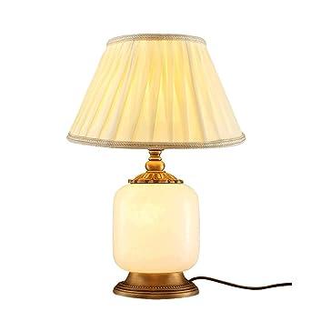 Yu Chuang Xin Moderne Chinesische Stil Kupfer Tischlampe Marmor Stil