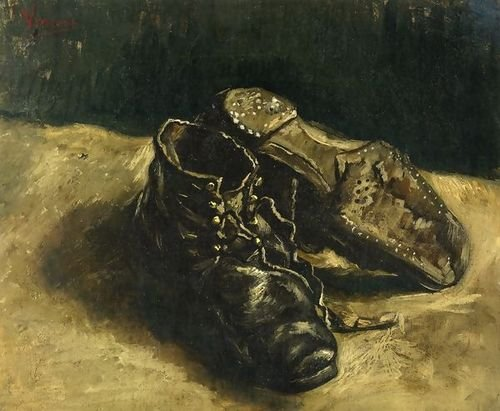 (Vincent Van Gogh A Pair of Shoes II 16.54x14.96 [Kitchen])