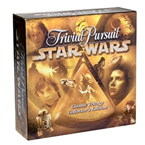Trivial Pursuit Star Wars Classic Trilogy Collectors Edition - 51XRHW20DQL - Trivial Pursuit Star Wars Classic Trilogy Collectors Edition