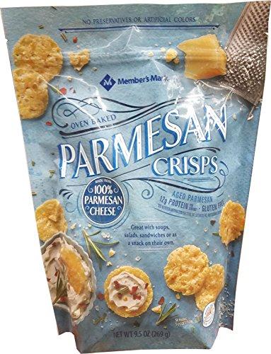 Member's Mark Oven Baked Parmesan Crisps, 9.5 Ounce (Parmesan Chips)