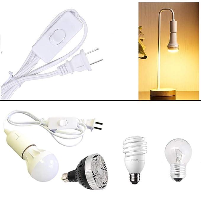 Amazon.com: Deloky Juego de 4 paquetes de cable de lámpara ...