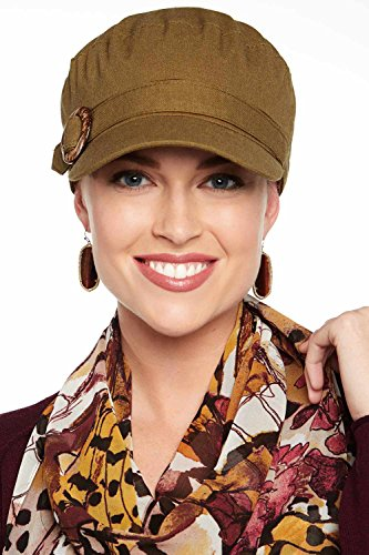 Headcovers Unlimited Logan Newsboy Cap-Caps for Women with Chemo Cancer Hair Loss