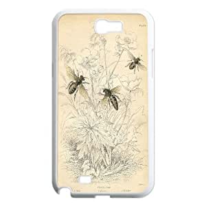 Best Quality [LILYALEX PHONE CASE] Honey Bee Pattern For Samsung Galaxy Note 2 CASE-12