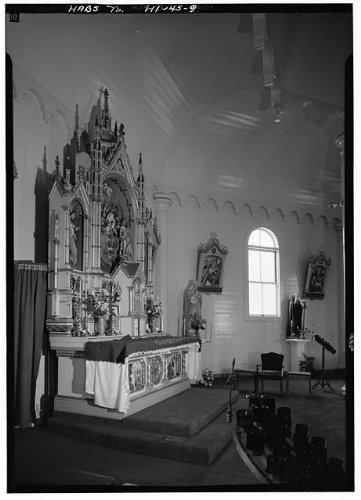- Photo: 9. ALTAR,OBLIQUE VIEW - Holy Ghost Roman Catholic Church,Waiakoa,Maui County,HI