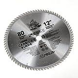 ATE Pro. USA 33055 Carbide Saw Blade, 12'', 80-Teeth