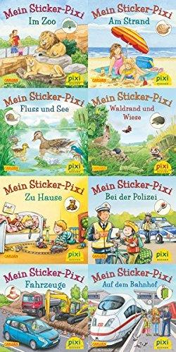 Pixi-8er-Set 234: Pixis neue Sticker-Bücher (8x1 Exemplar)