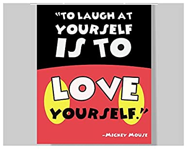 Amazon.com: Mickey Mouse Quote Poster - 16 x 20 ...