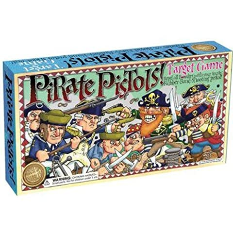 House of Marbles Pirate Pistols Target Retro Game Rubber Bands