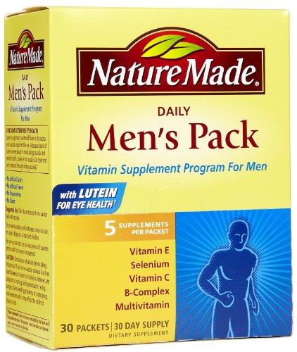 Nature Made Men's Daily Vitamin Pack