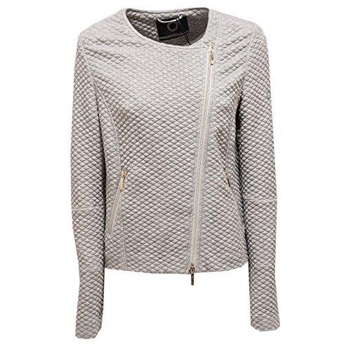 To Grigio Chiaro Full Zip Donna Jacket Woman Sofia 9426u Melange Giacca Up Be 1twg61qAx