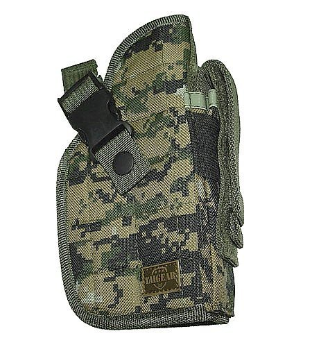 New Right Hand Woodland Digital Camo Tactical Gear Belt Holster -