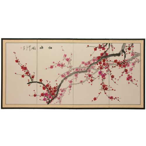 Oriental Furniture Plum Blossom - 36